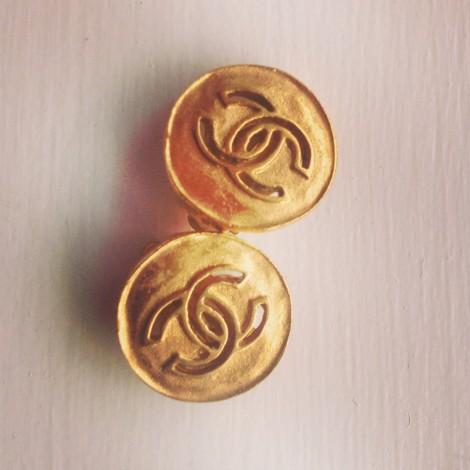 Chanel vinatge earrings
