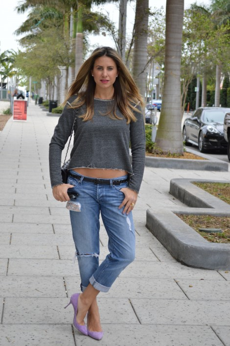 maria tettamanti in boyfriend jeans